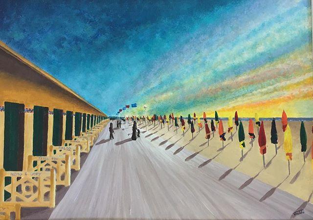 Deauville - les planches
