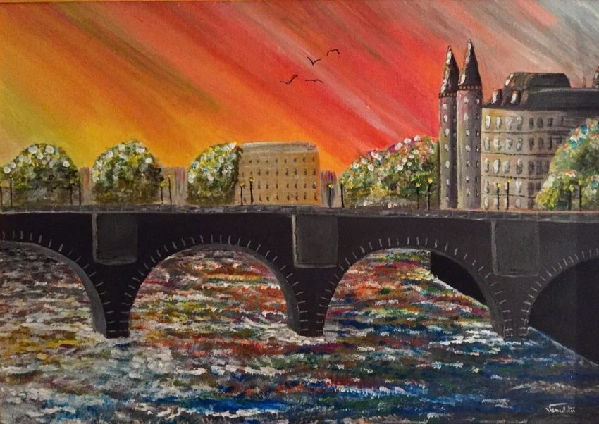 Paris - Pont neuf - pop