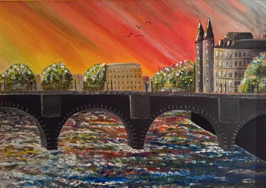 Paris : Pont neuf pop